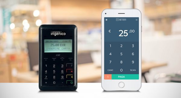 Il POS mobile Move and Pay funziona con app su smartphone