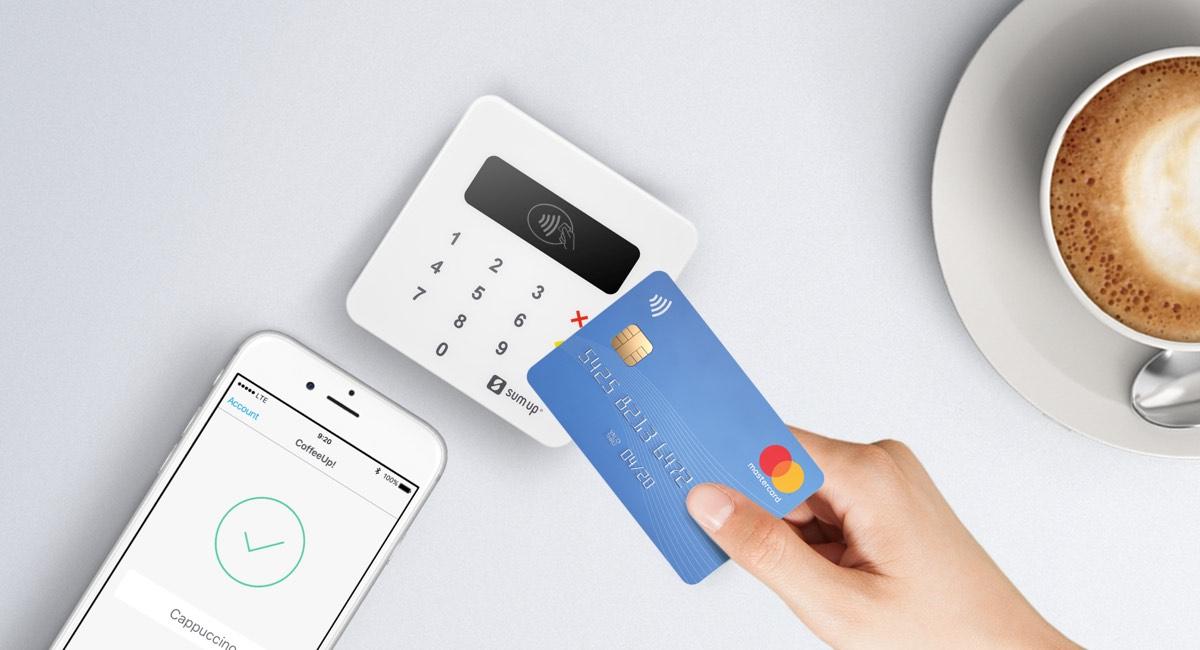 SumUp Air accetta anche pagamenti contactless