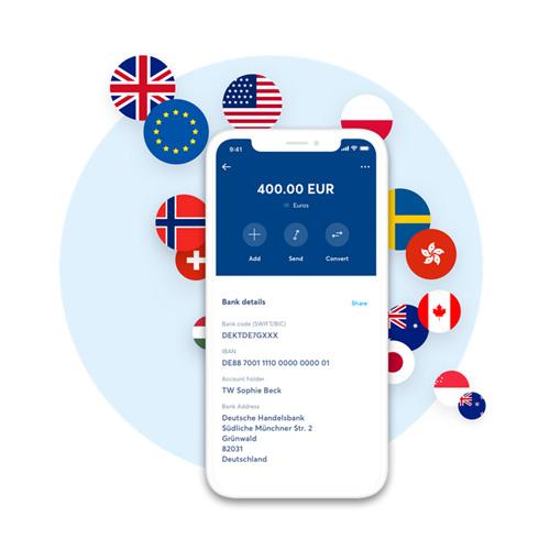 Su TransferWise è possibile inviare e ricevere pagamenti in oltre 40 valute
