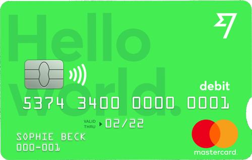 La carta di debito TransferWise è gratuita e fa parte del circuito MasterCard