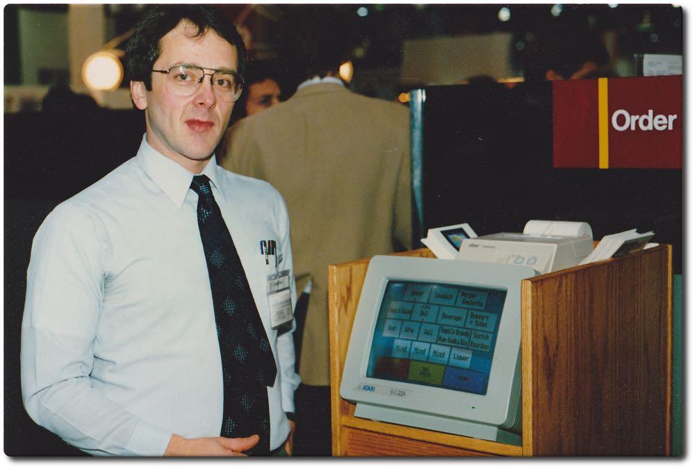 Il primo registratore di cassa touchscreen è stato prodotto da Atari