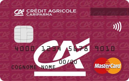 Con Conto Adesso si può chiedere una carta di credito MasterCard