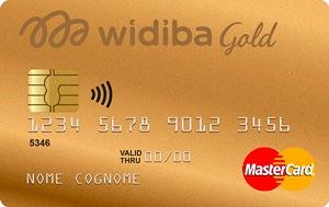 Widiba offre una carta di credito oro per una maggiore soglia di spesa