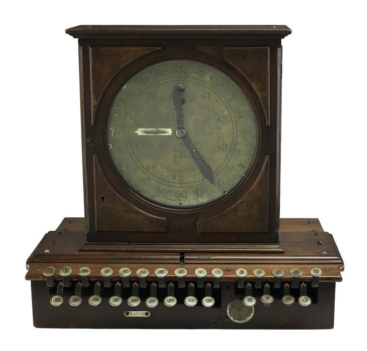Il primo registratore di cassa Ritty era meccanico