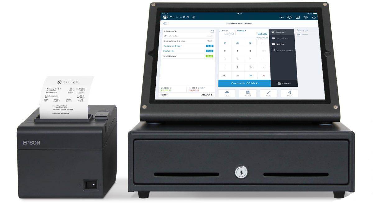 Tiller è un registratore di cassa per tablet