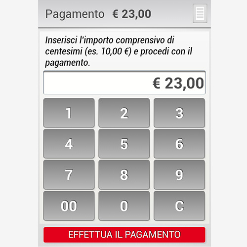 UniCredit POS mobile app
