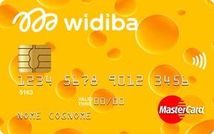 La carta di credito Widiba può essere scelta con design stravaganti