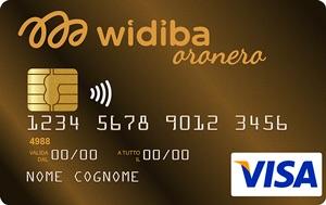 La carta di credito Oronero Widiba è riservata ai clienti più esigenti