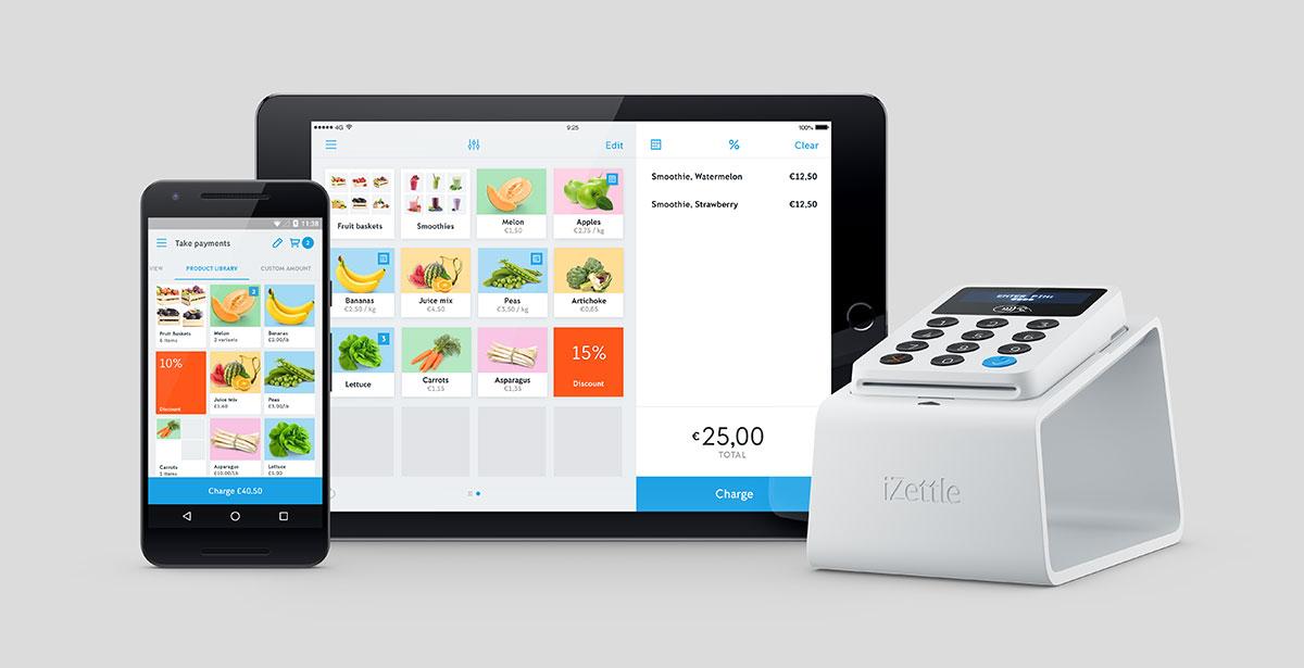 iZettle è un registratore di cassa per smartphone e tablet