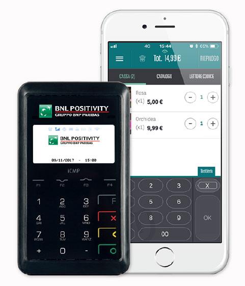 Il POS mobile Mobo funziona attraverso un'app per smartphone