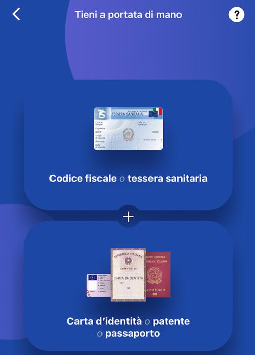 Registrazione sull'app Buddybank