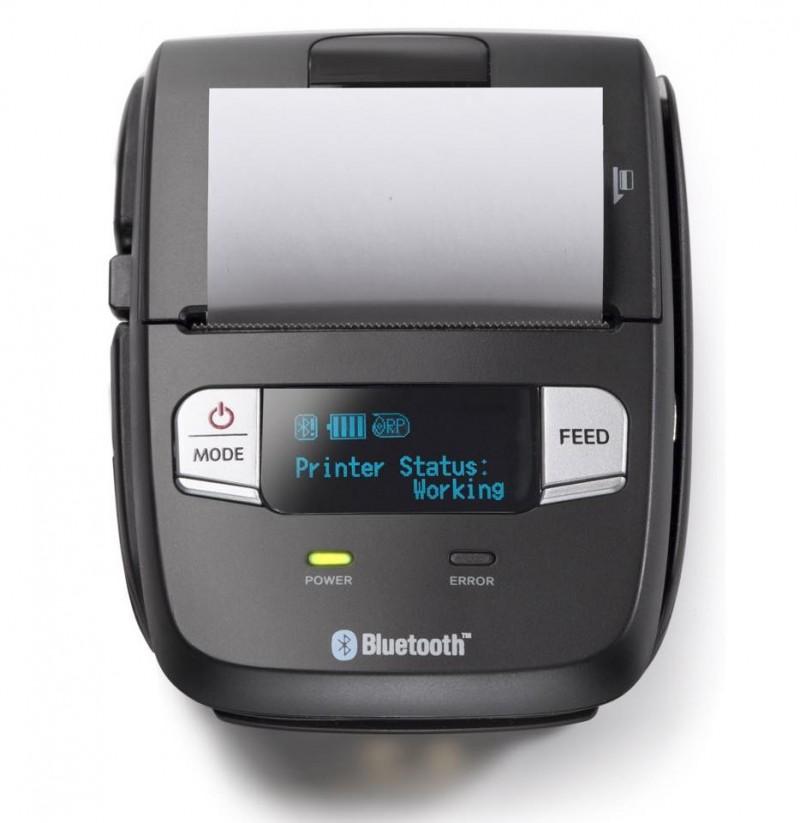 La stampante portatile SM-T300i produce scontrini fiscali