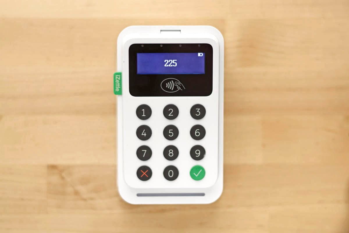 iZettle Reader 2 con Dock