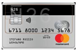 Carta MasterCard N26