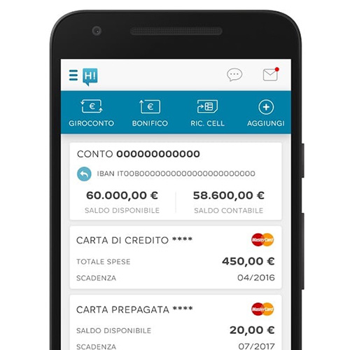 Hello Bank applicazione