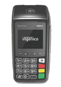 POS portatile Ingenico Move2500