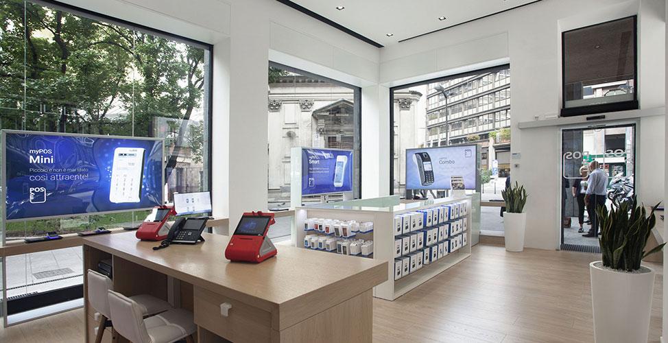 myPOS negozio Milano