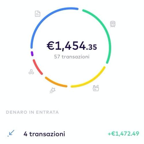 Classificazione spese in app