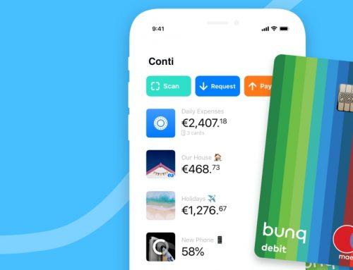 Bunq: il conto online con carta di credito gratuita