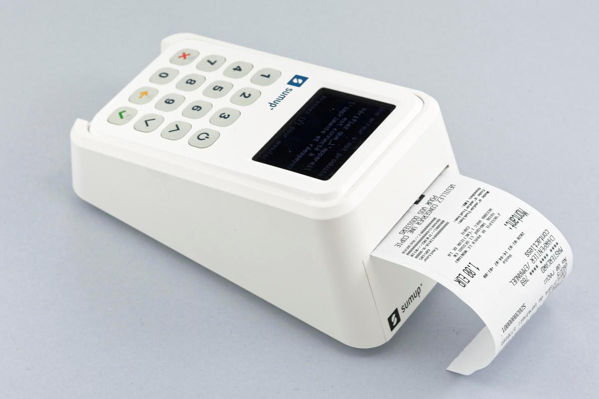 Lettore SumUp 3G con stampante