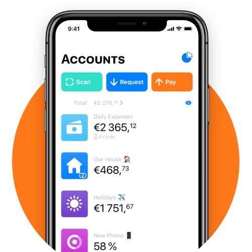 App Bunq per iPhone