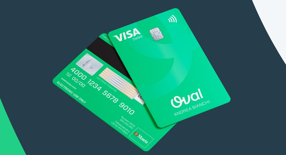 Carta Visa di Oval Pay
