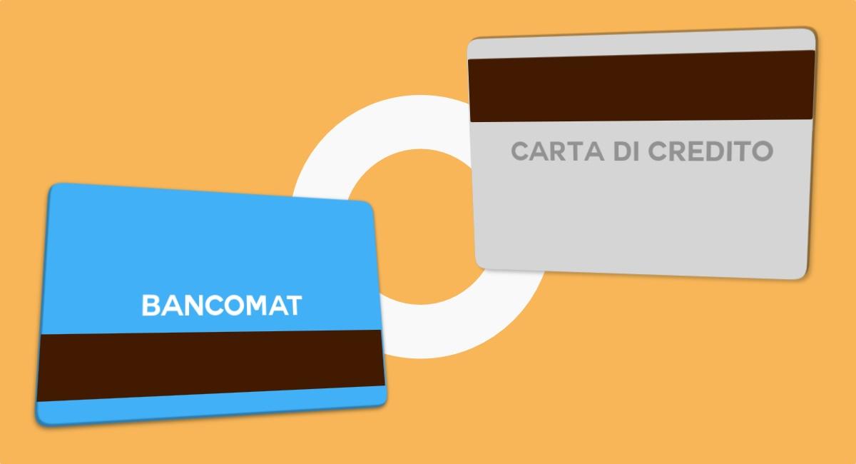 Differenza Bancomat e Carta di credito