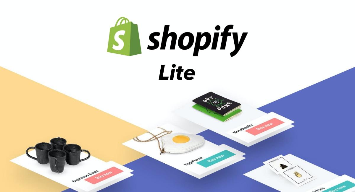 Recensione Shopify Lite