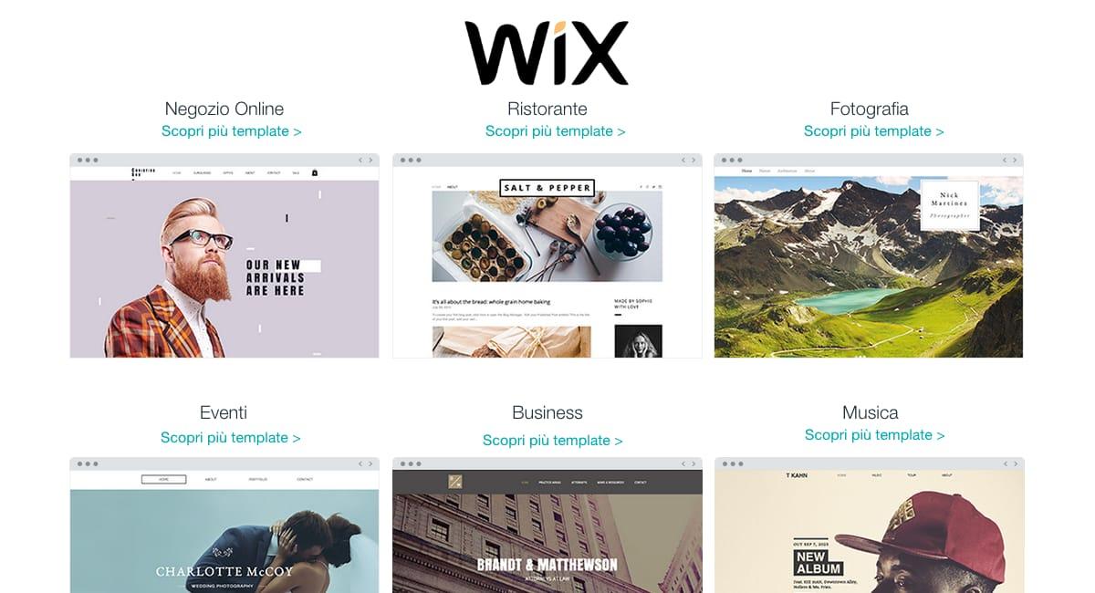 Recensione Wix