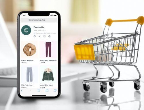 Negozio Online di SumUp: allestimento di un sito e-commerce in pochi clic