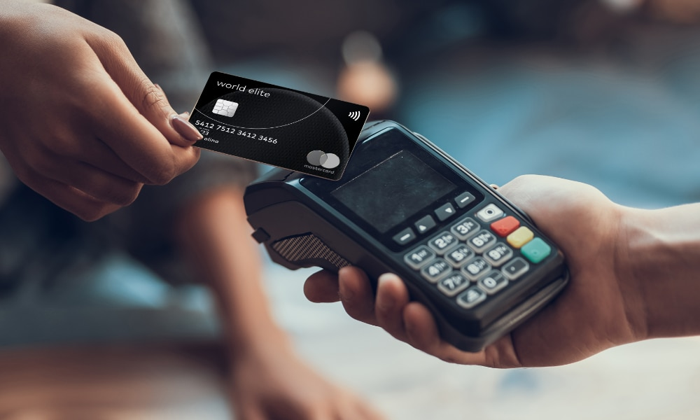 Pagamento su POS con World Elite MasterCard