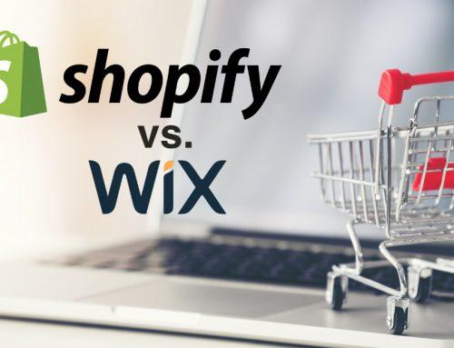 Wix vs Shopify: due piattaforme valide, ma per uso diverso