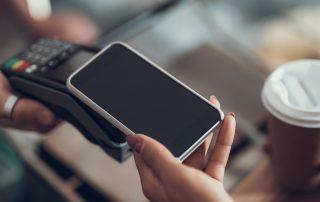 Pagamento con smartphone