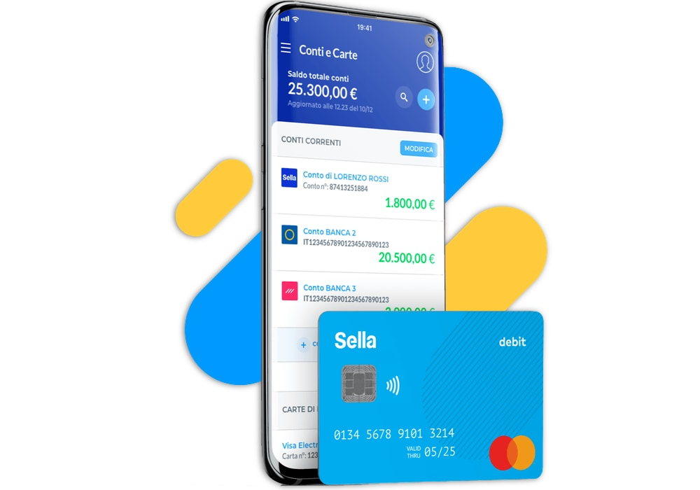 Carta di debito MasterCard di Banca Sella