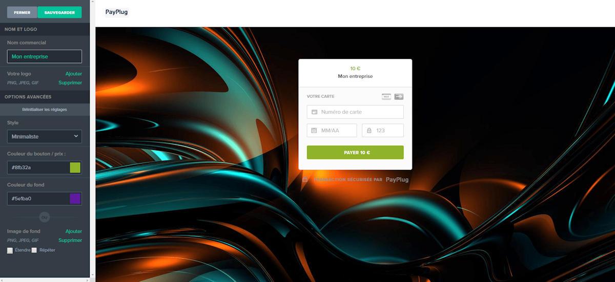 Personalizzazione della pagina di checkout