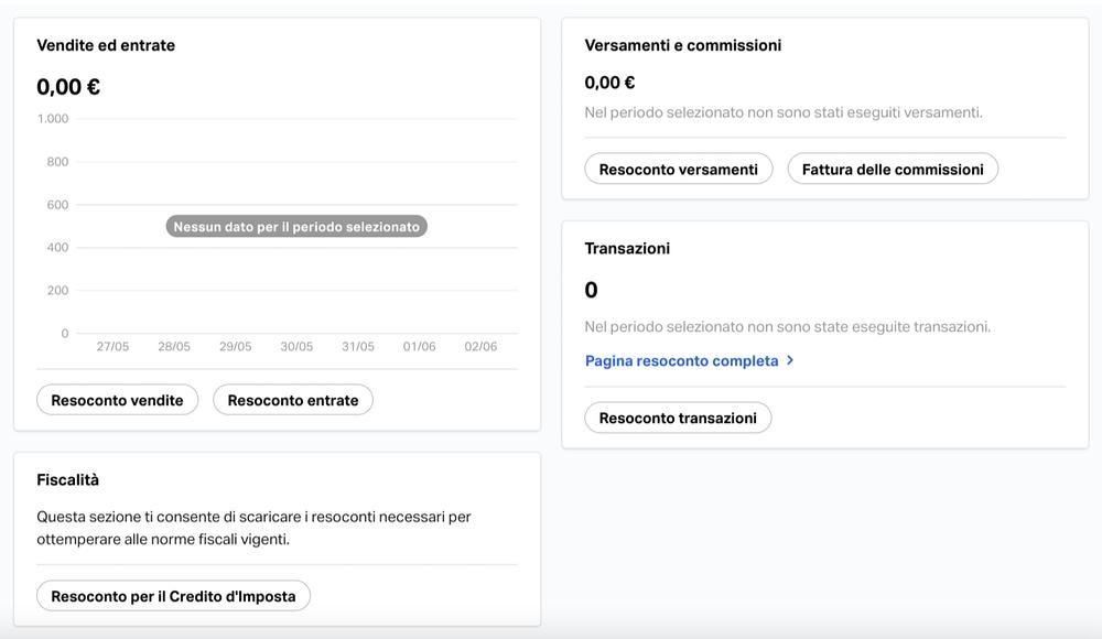 Piattaforma web SumUp