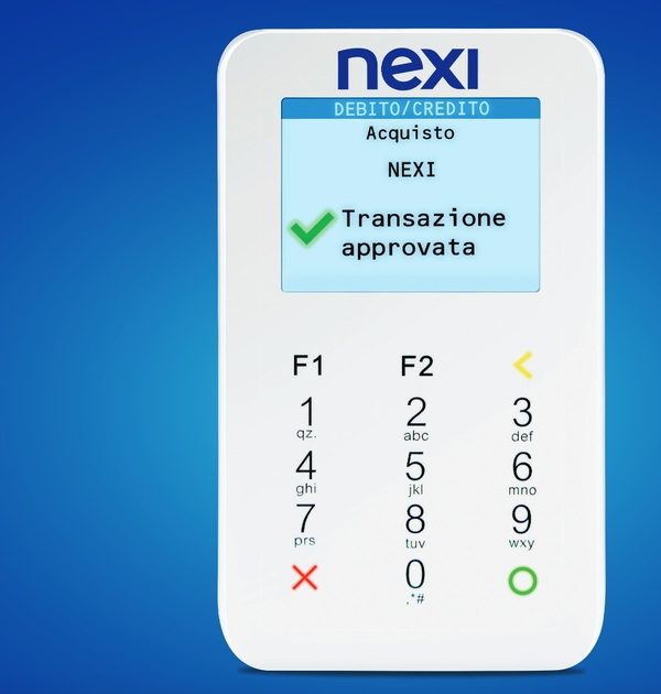Il POS mobile Nexi è leggero e compatto ma deve essere associato allo smartphone